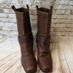 Gianni Bini Sz 10 Brown Heeled Boots